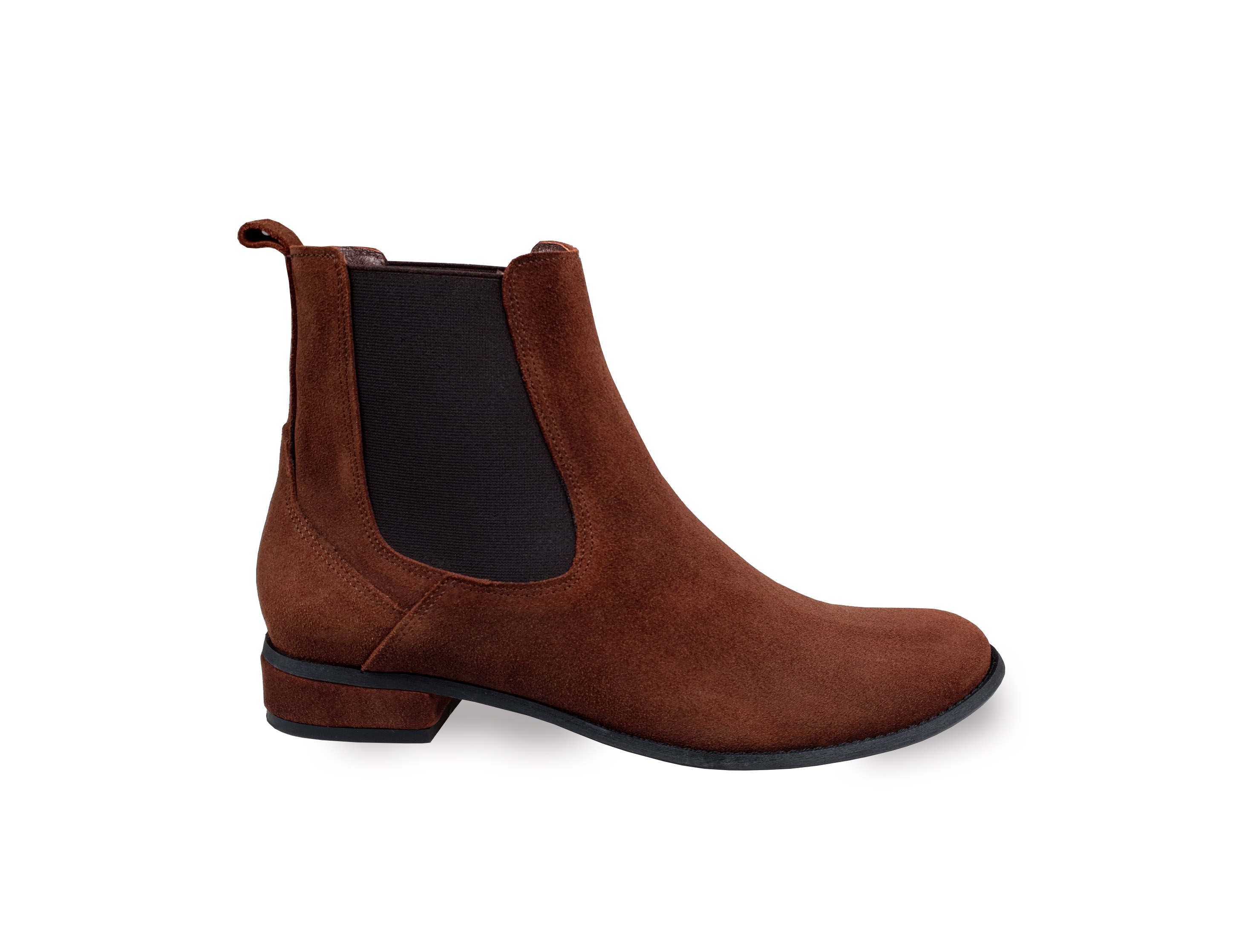 Casey brown suede ankle boots