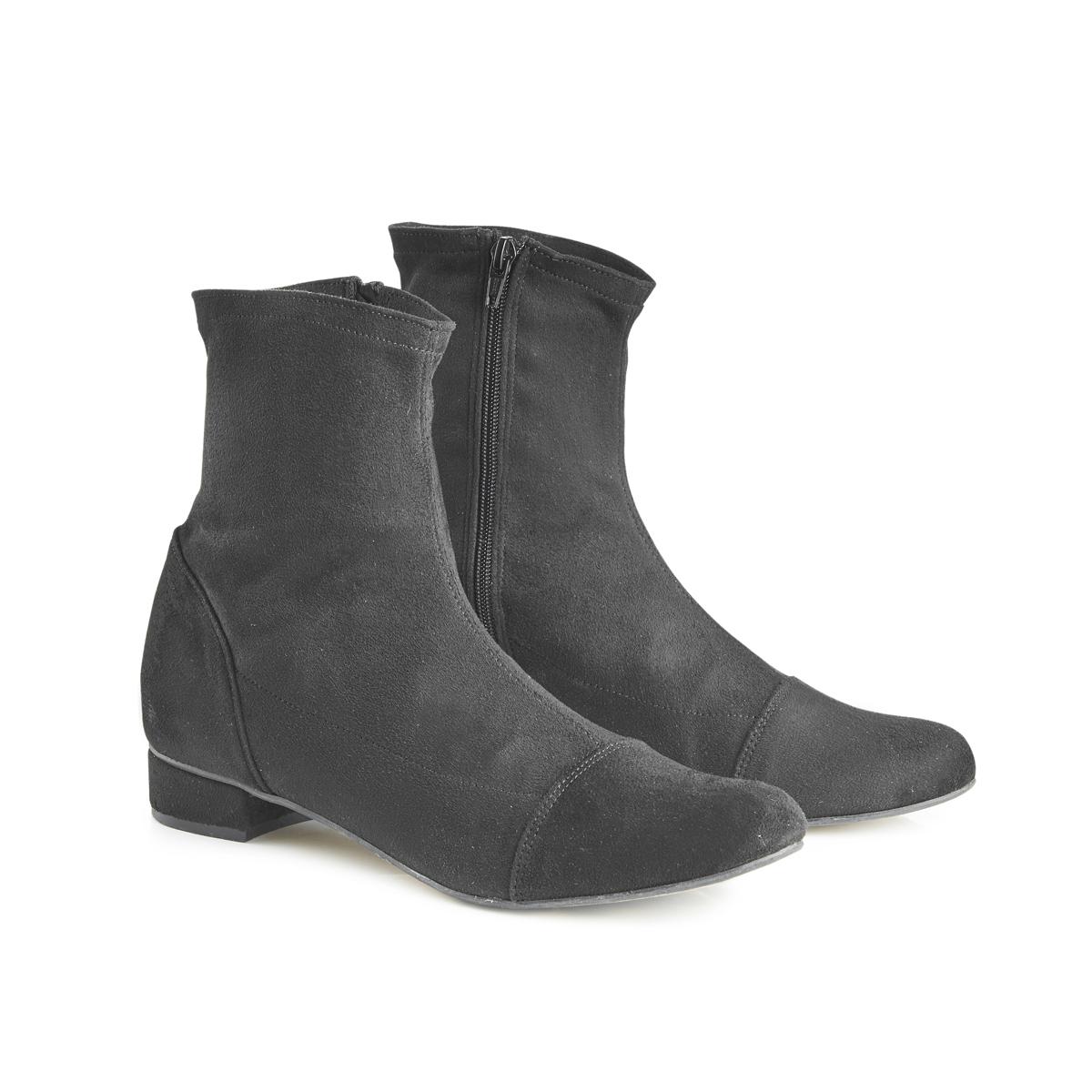 Luna Sock Boot - Black