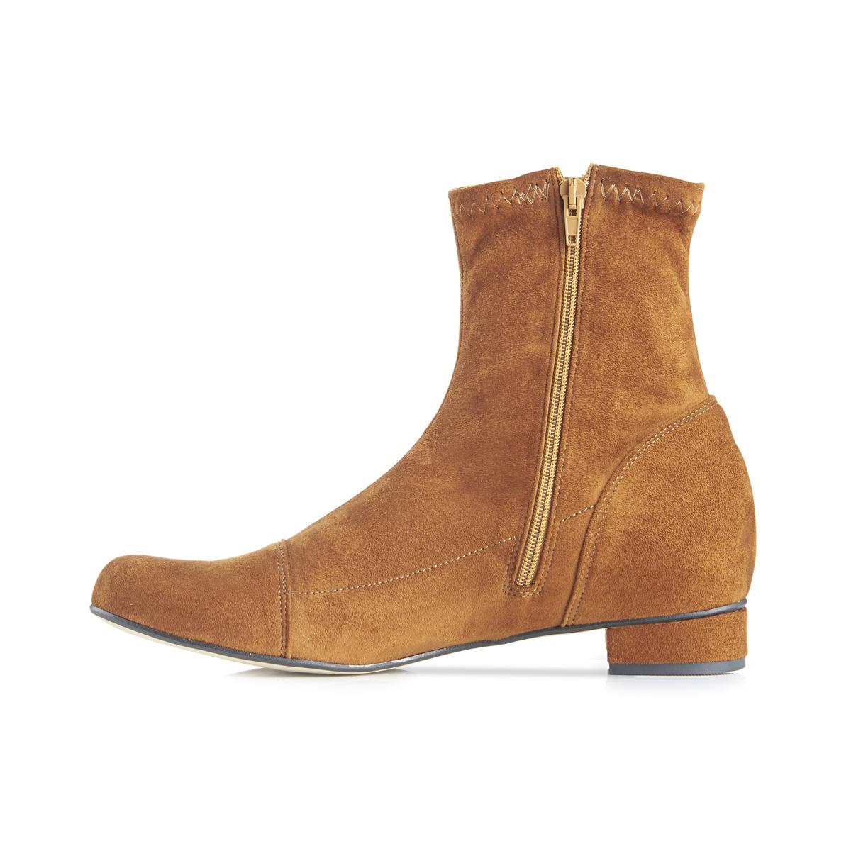 Luna Sock Boot - Tan