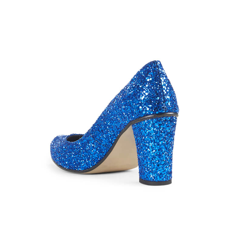 Alicia glitter high heels - blue