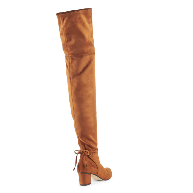 Janis stretch thigh high boots