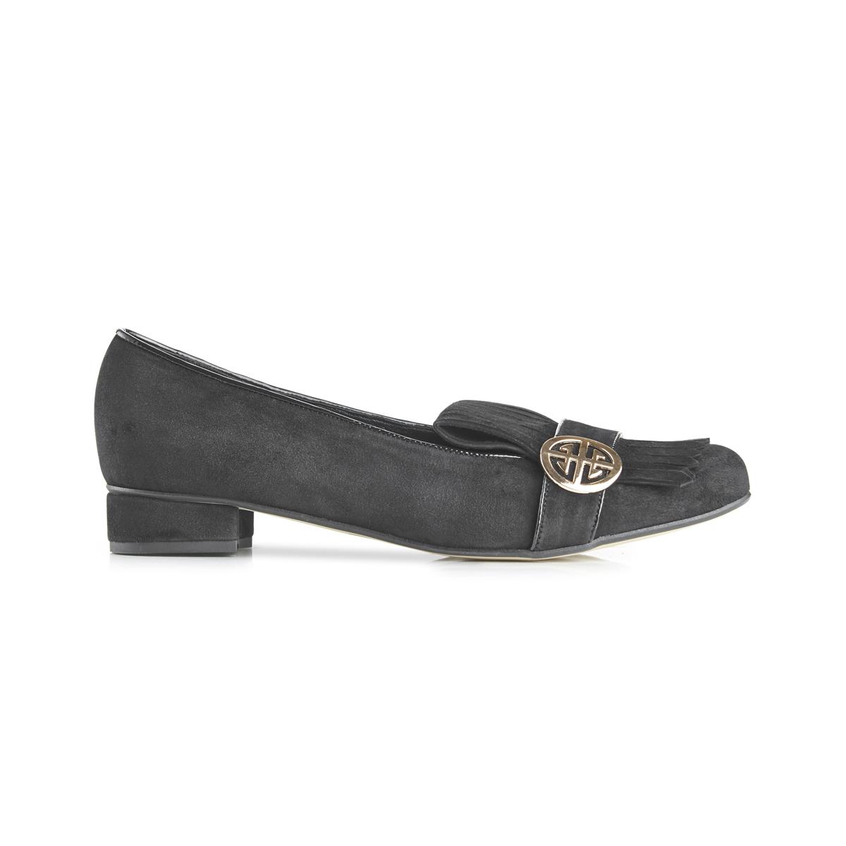 Ellen suede fringed loafers