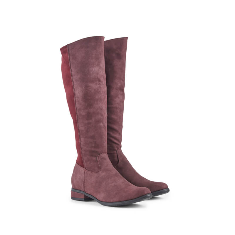 Lauren nubuck leather boots