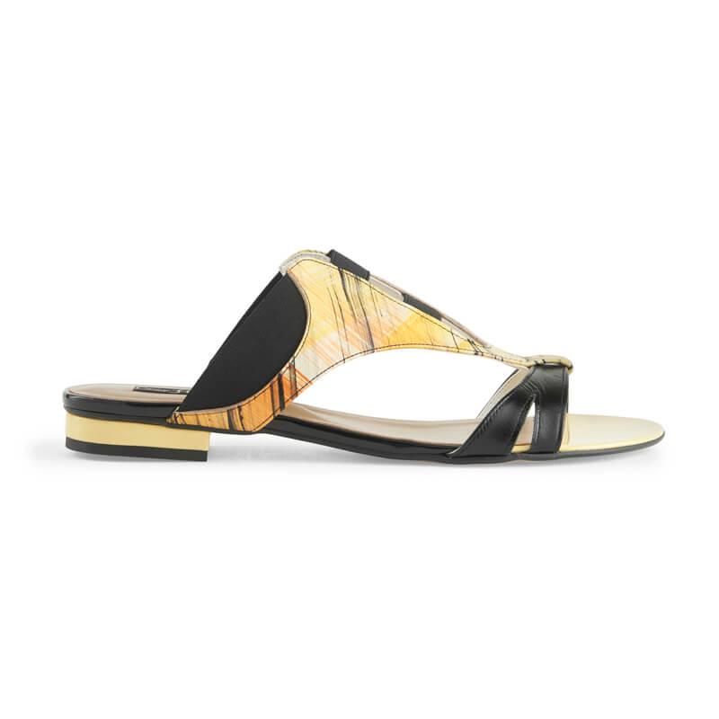 Yana multicolour leather sandals