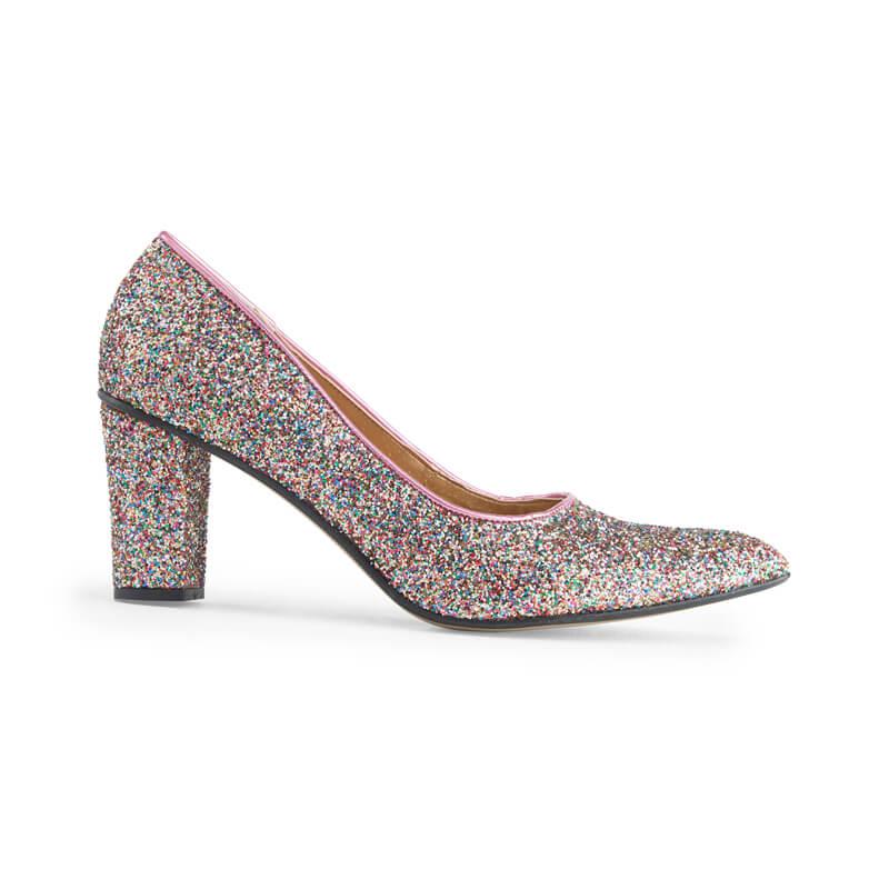 Alicia glitter high heels - pink