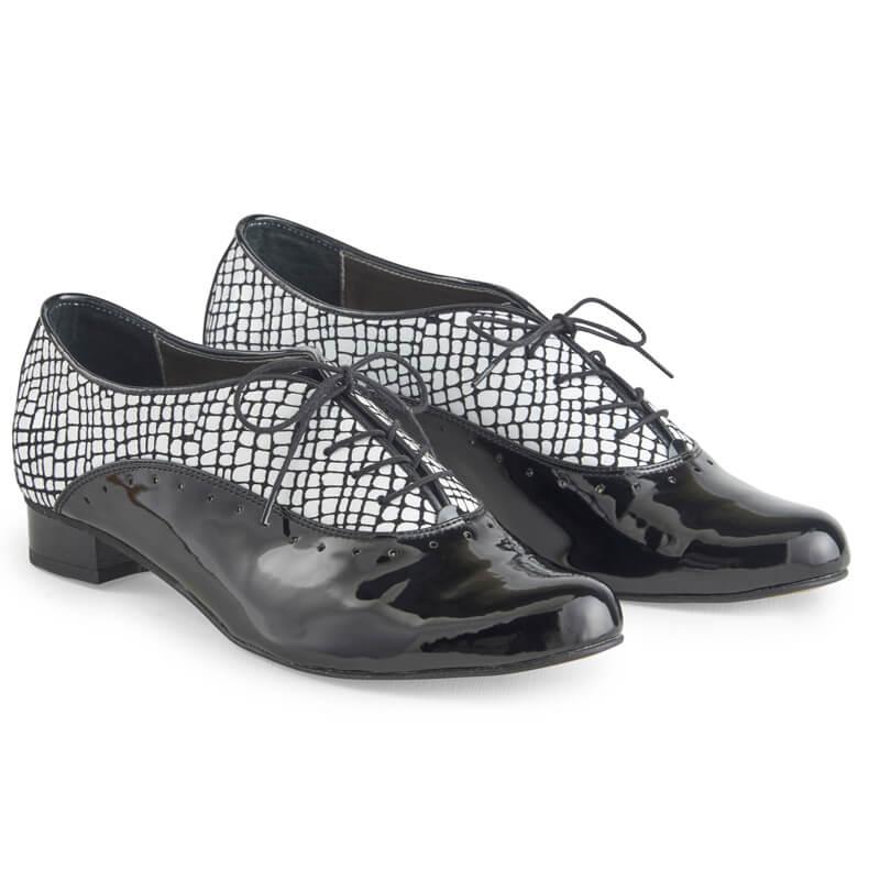 Ava monochrome leather Oxfords